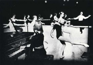 Sylviane Bayard at the Prix de Lausanne in 1973