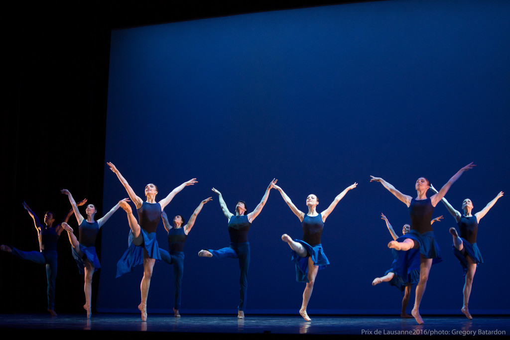 Interlude during the 2016 finals : Junior Company of the Dutch National Ballet