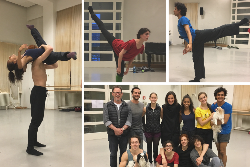 Dancers of the National Youth Ballet of Germany Pictures by the Prix de Lausanne Artistic Director, Shelly Power, during her visit of the company in november 2016