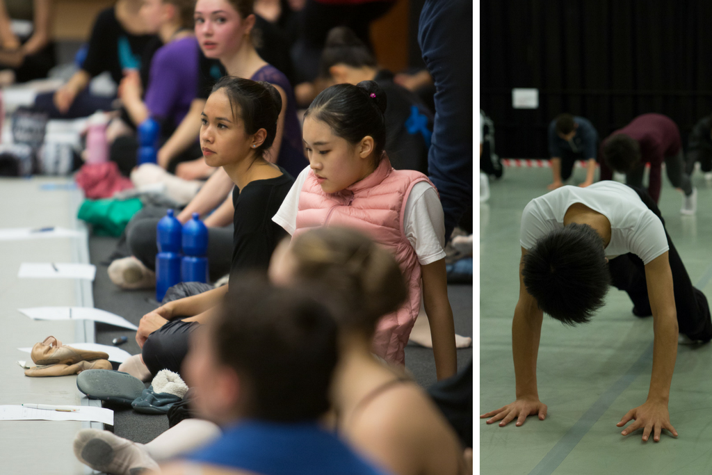 Nureyev Foundation workshop - Prix de Lausanne 2016 - Photos by Gregory Batardon