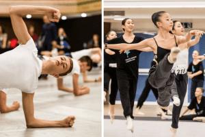 Nureyev Foundation workshop - Prix de Lausanne 2016 - Photos by Gregory Batardon