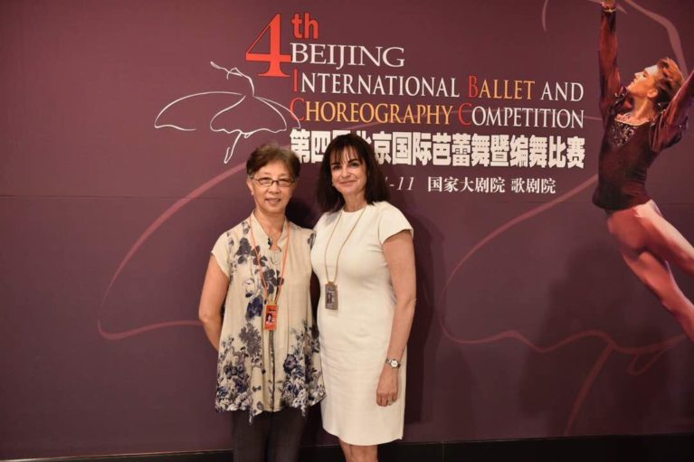 Zhao Ruheng and Shelly Power